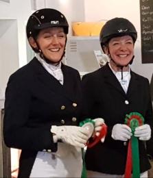 Sieglinde und Elisabeth Siegerehrung